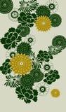 dekorativt blom- för bakgrund Fotografering för Bildbyråer