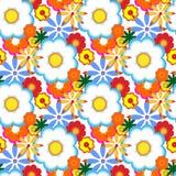 dekorativt blom- för bakgrund Arkivbilder