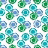 dekorativt blom- för bakgrund Royaltyfri Bild