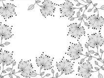 dekorativt blommamodell vektor illustrationer