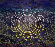 dekorativt designelement royaltyfri illustrationer