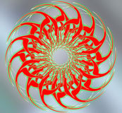 dekorativt diagram Royaltyfri Fotografi