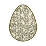 dekorativt easter ägg Arkivfoton