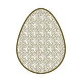 dekorativt easter ägg Arkivfoto