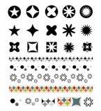dekorativt elemen vektor illustrationer