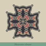 dekorativt element Vektor Illustrationer