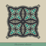 dekorativt element Stock Illustrationer