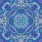 Dekorativt etniskt blom- sömlöst för abstrakt vektor Royaltyfri Fotografi