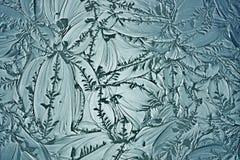 Dekorativt exponeringsglas arkivbilder