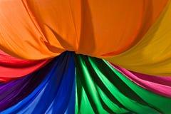 Dekorativt färgrikt material Royaltyfria Bilder