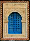 Dekorativt fönster fotografering för bildbyråer