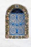 dekorativt fönster Royaltyfria Foton
