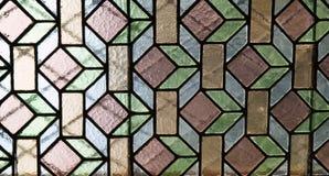 dekorativt fönster Arkivfoto