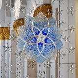 Dekorativt fönster för storslagen moské Royaltyfri Foto