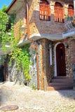 Dekorativt hus Royaltyfri Foto