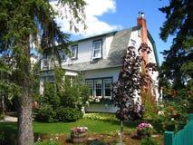 dekorativt hus för ladugård royaltyfri foto