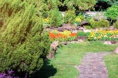 Dekorativt i trädgården royaltyfri foto