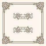 Dekorativt inrama Royaltyfri Fotografi