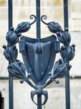 Dekorativt järn Royaltyfri Bild