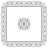 dekorativt kantdesignelement Royaltyfri Fotografi