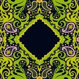 dekorativt kort Royaltyfri Fotografi