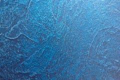 Dekorativt lättnadsljus för abstrakt Grunge - blått Arkivbilder