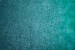 Dekorativt ljus för härlig abstrakt Grunge - blå Cyan målad stuckaturväggtextur fotografering för bildbyråer