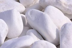 Dekorativt marmorera kiselstenar arkivfoto
