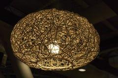 Dekorativt modernt ljus Royaltyfri Fotografi
