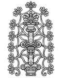 Dekorativt mytiskt träd royaltyfri illustrationer