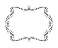 Dekorativt retro inramar också vektor för coreldrawillustration _ royaltyfri illustrationer