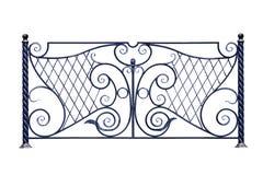 dekorativt staket arkivbilder
