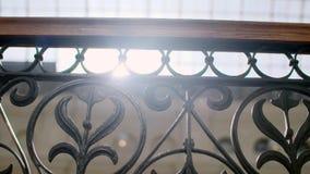 Dekorativt staket f?r metall lager videofilmer