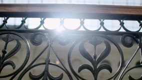 Dekorativt staket f?r metall arkivfilmer