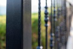 dekorativt staketjärn royaltyfri bild