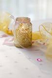 dekorativt stearinljus Royaltyfria Foton