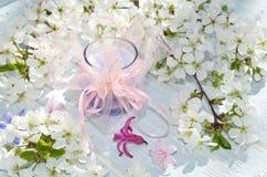 dekorativt stearinljus Royaltyfria Bilder