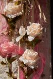 dekorativt steg Royaltyfria Bilder