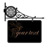 dekorativt tecken Royaltyfri Fotografi