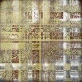 dekorativt texturerat grungy orientaliskt för bakgrund Arkivfoton