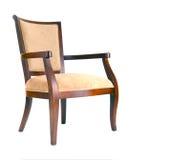 dekorativt trä för stol Royaltyfria Foton