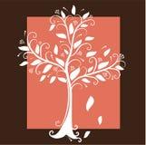 Dekorativt träd stock illustrationer