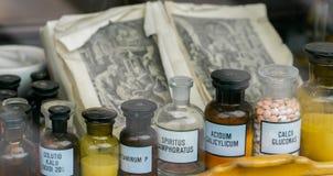 Dekoratiye médico dos frascos decorado Foto de Stock Royalty Free