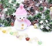 Dekorera av jul eller det nya året eller årsdagen, etc. Söt och mjuk signalstil i tappningsignal Royaltyfria Bilder