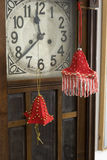 dekorera handen - gjorda röda lokaltoys Arkivbild