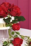dekorerad cake Arkivfoton