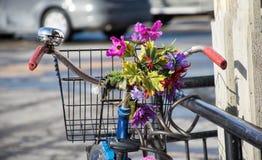 dekorerad cykel Royaltyfria Foton