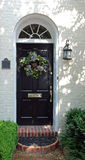 Dekorerad dörr Arkivbilder