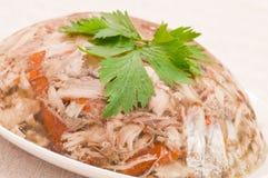 dekorerad meat för aladåb höna Royaltyfri Bild