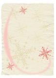 dekorerad paper tappning Royaltyfria Bilder